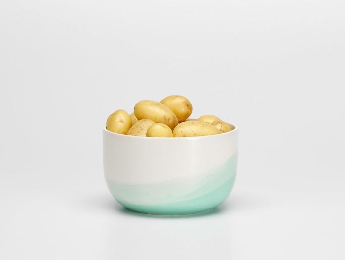 Vitra Herringbone Bowl Mint 2 Raw Edges