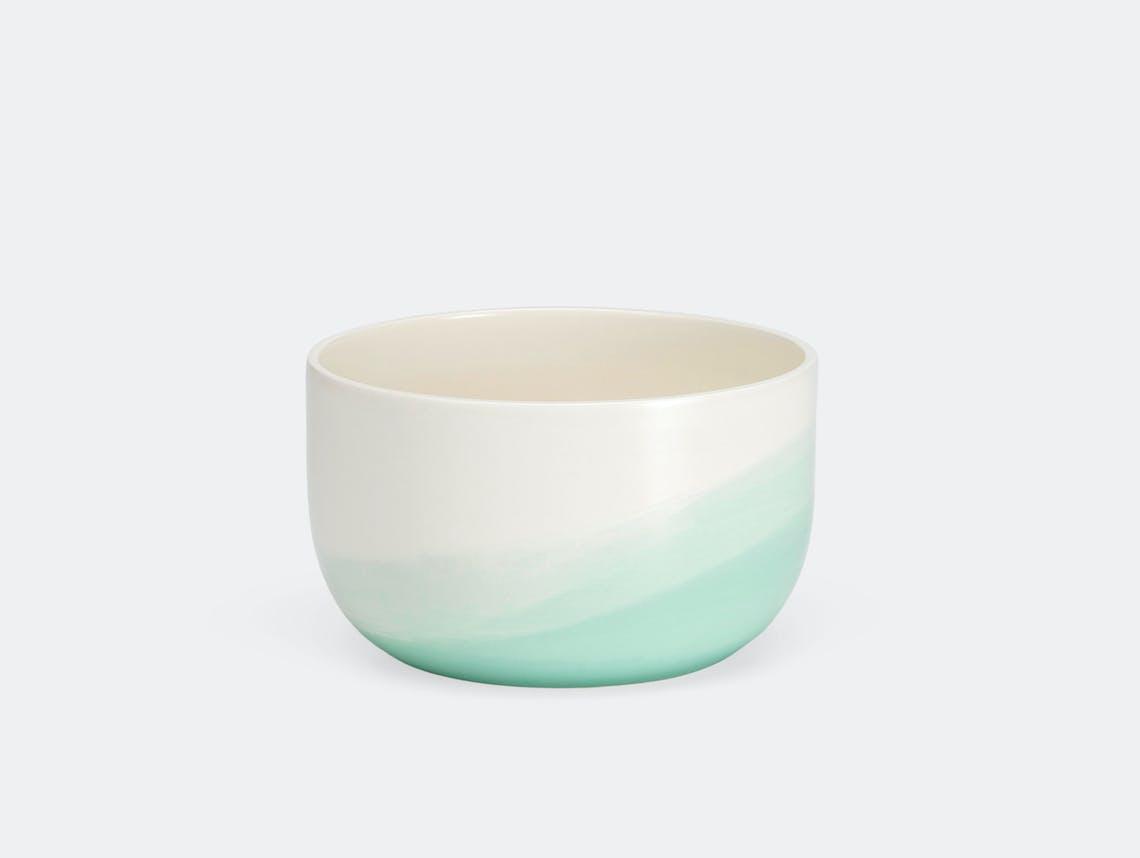 Vitra Herringbone Bowl Mint Raw Edges