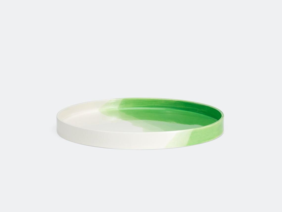 Vitra Herringbone Tray Green Raw Edges