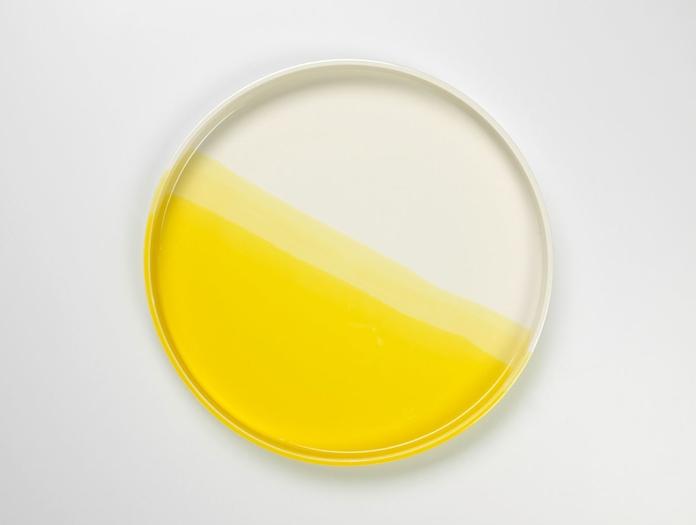 Vitra Herringbone Tray Yellow 2 Raw Edges