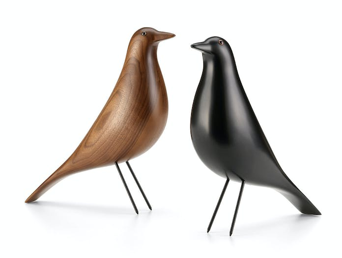 Vitra House Bird black alder walnut Charles Ray Eames