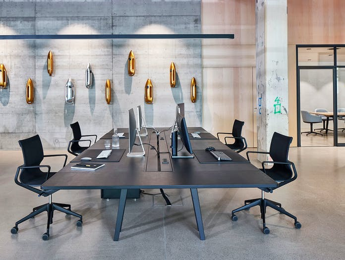 Vitra Joyn Workstation Table System 3 Bouroullec