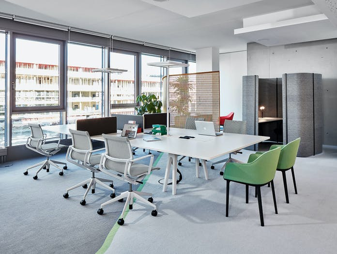 Vitra Joyn Workstation Table System 5 Bouroullec