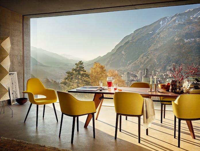 Vitra Organic Chair Softshell Chair Table Solvay