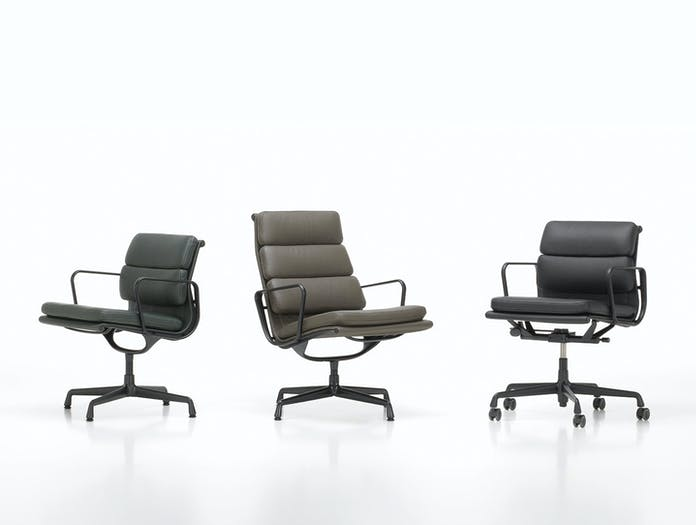 Vitra Soft Pad Chairs Charles Ray Eames