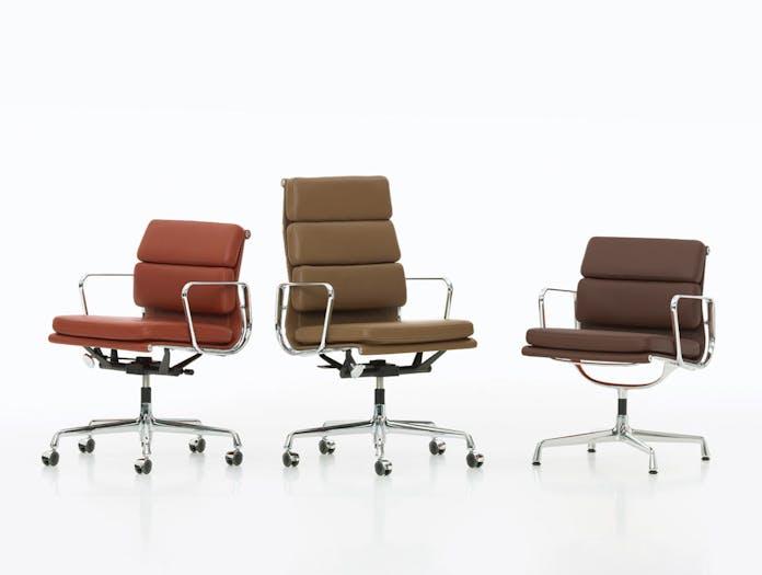 Vitra Soft Pad Chairs Charles and Ray Eames