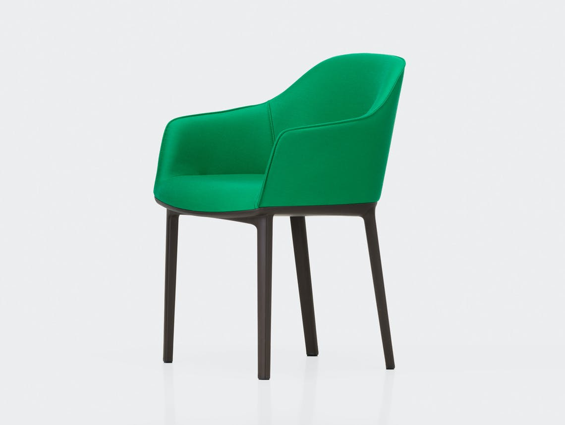 Vitra Softshell Chair Aura Emerald Bouroullec
