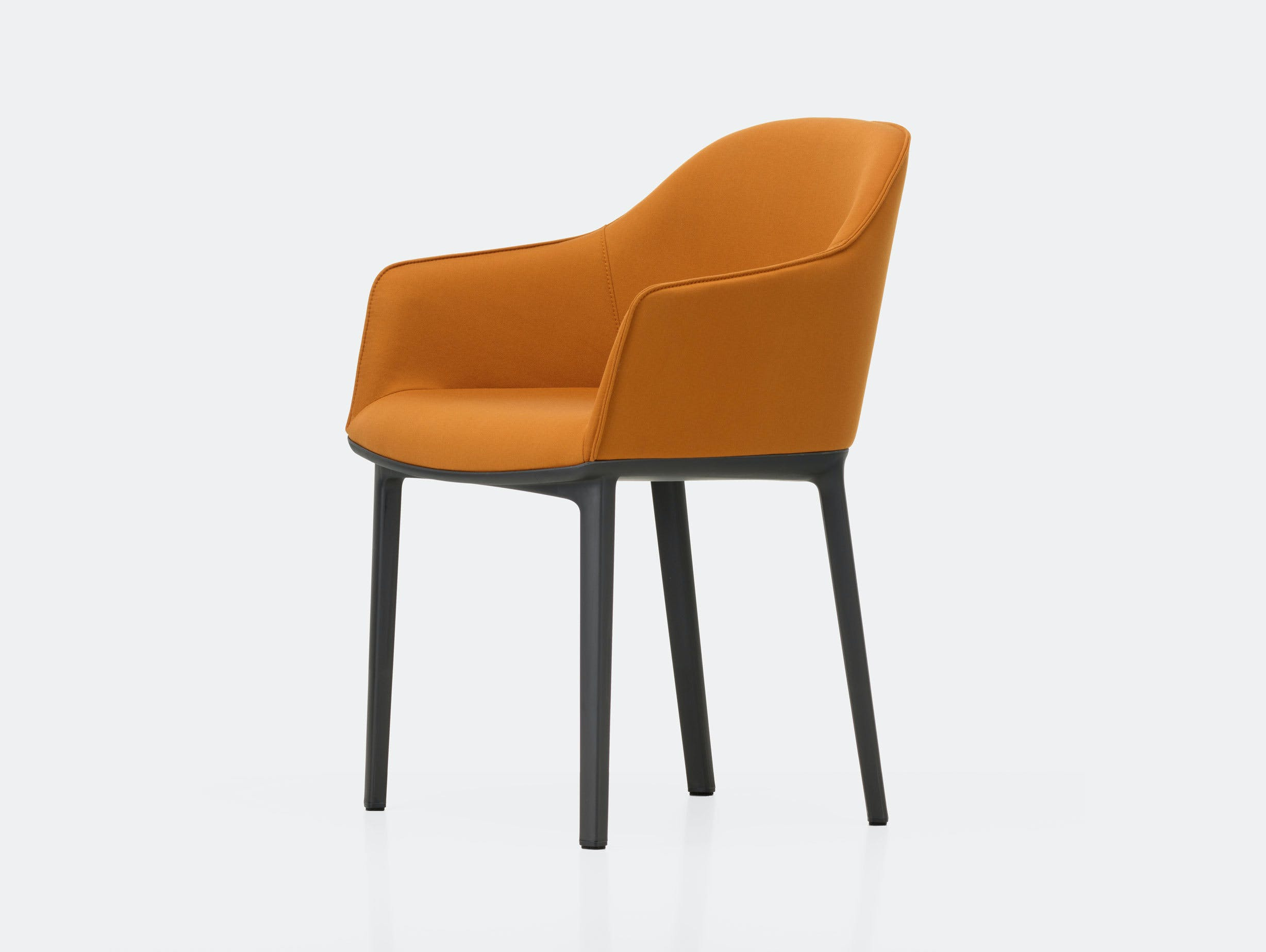 Vitra Softshell Chair Twill Cognac Bouroullec