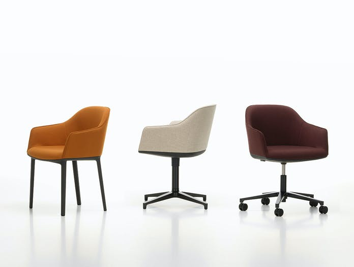 Vitra Softshell Chairs Bouroullec