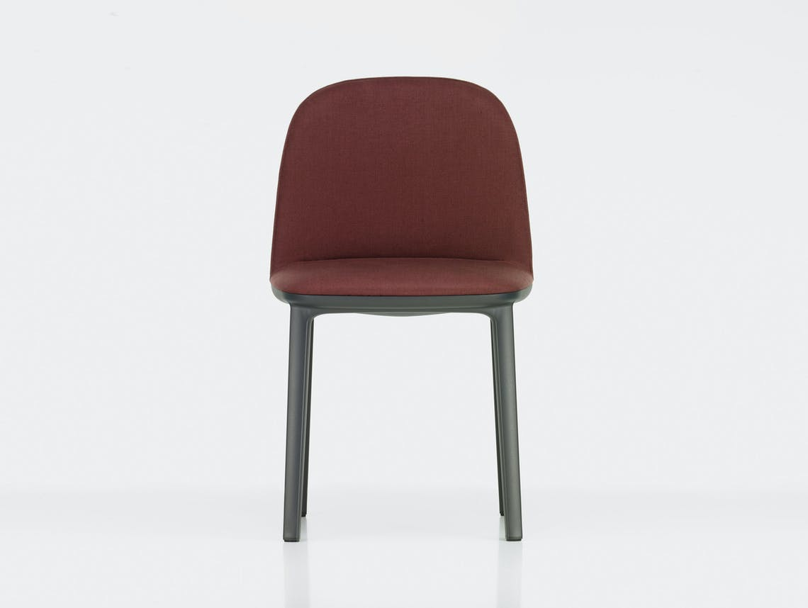 Vitra Softshell Side Chair Volo Marron Bouroullec