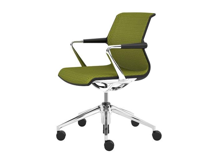 Vitra Unix Chair 1 Avocado Diamond Mesh Antonio Citterio