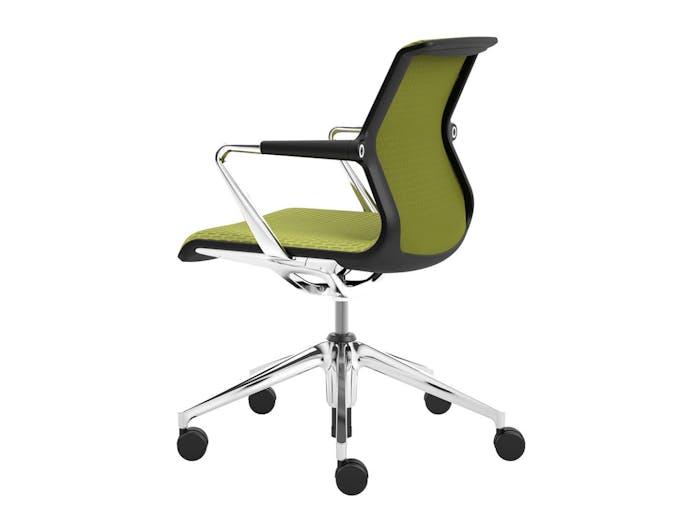 Vitra Unix Chair 2 Avocado Diamond Mesh Antonio Citterio