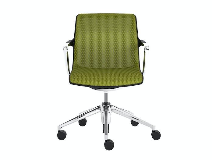 Vitra Unix Chair 3 Avocado Diamond Mesh Antonio Citterio