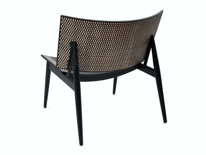Zanat Dama T Lounge Chair back