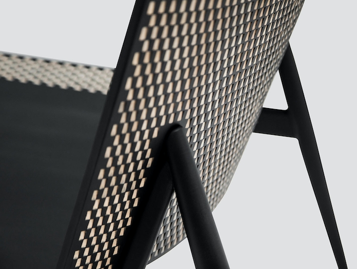 Zanat Dama T Lounge Chair detail 1