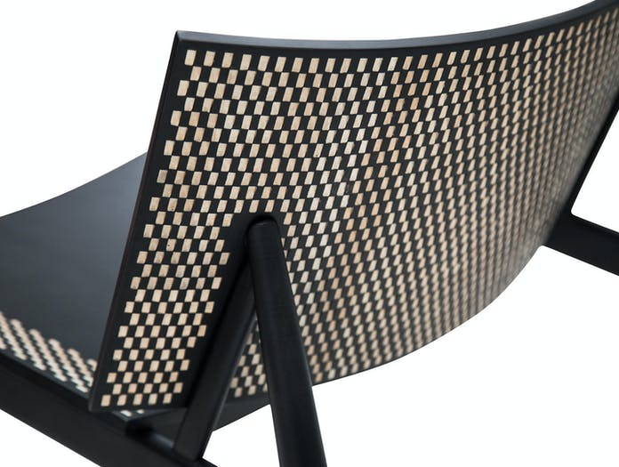 Zanat Dama T Lounge Chair detail 2