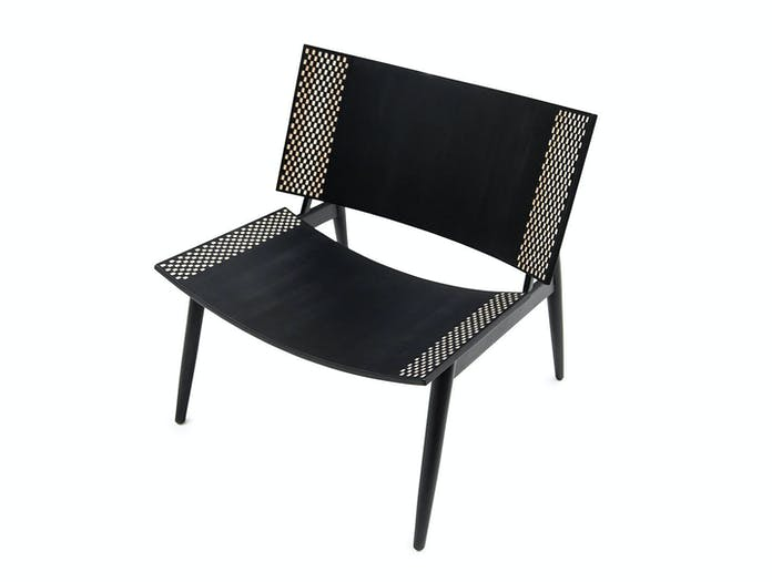Zanat Dama T Lounge Chair seat