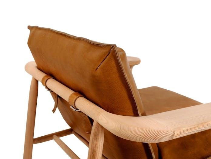 Zanat Igman Lounge Chair back detail Harri Koskinen