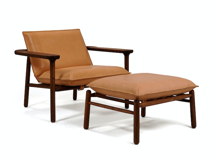 Zanat Igman Lounge Chair with Ottoman Harri Koskinen