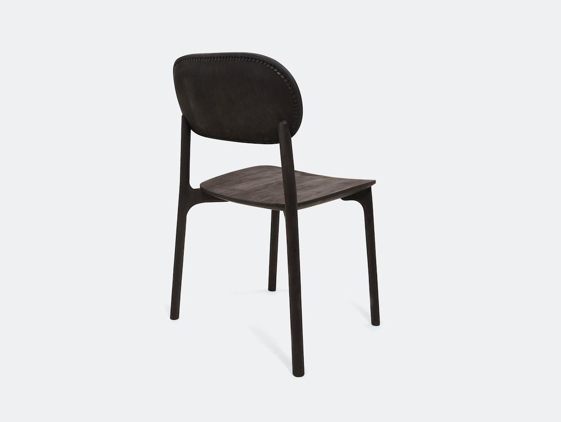 Zanat Unna Chair Maple Black with Reshma Edge I Monica Forster