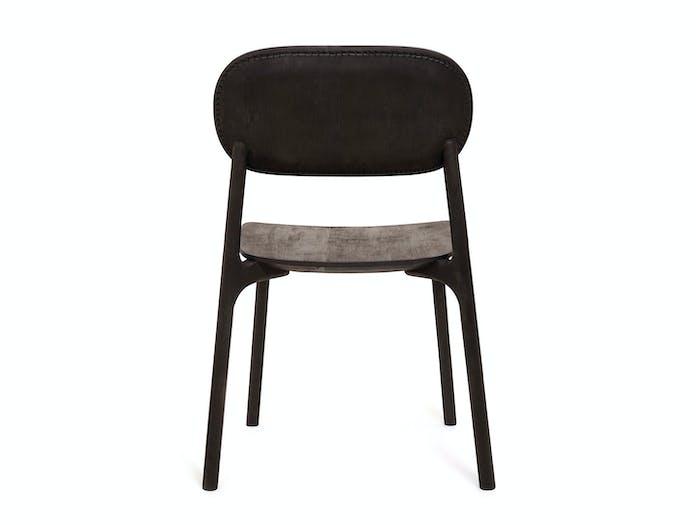 Zanat Unna Chair Maple Black with Reshma Edge I back Monica Forster