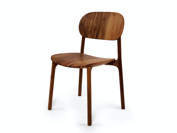 Zanat Unna Chair Walnut Oil Monica Forster