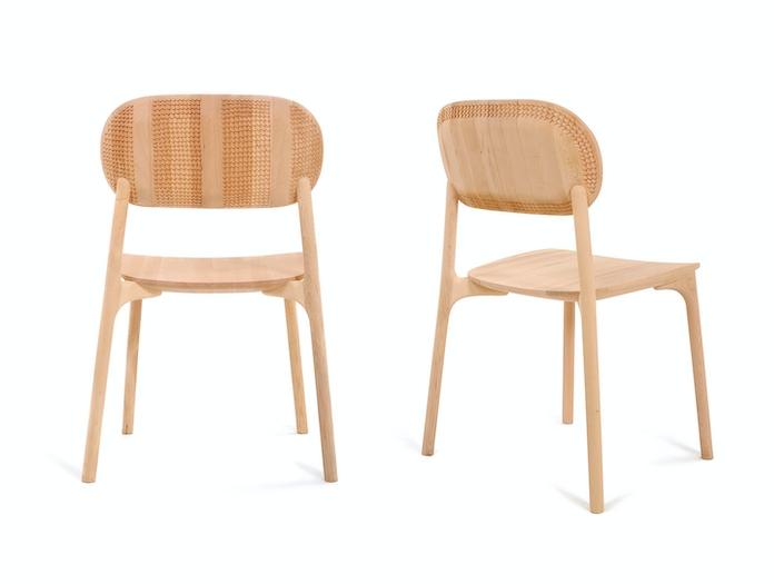 Zanat Unna Chairs Maple White Oil Monica Forster