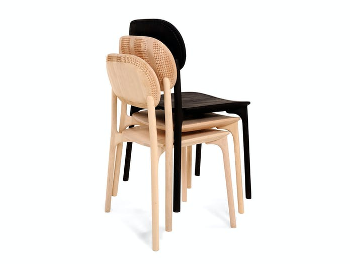 Zanat Unna Chairs stackable Monica Forster