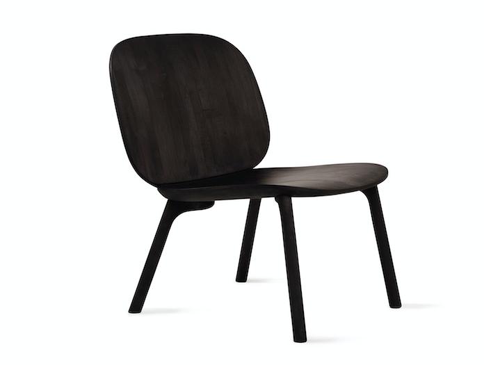 Zanat Unna Lounge Chair Maple Black 2 Monica Forster
