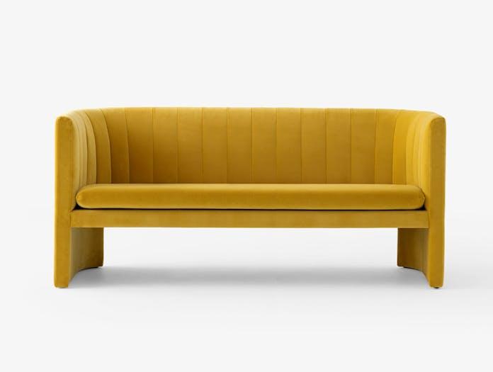 And Tradition Loafer Sofa Dandelion Velvet Space Copenhagen
