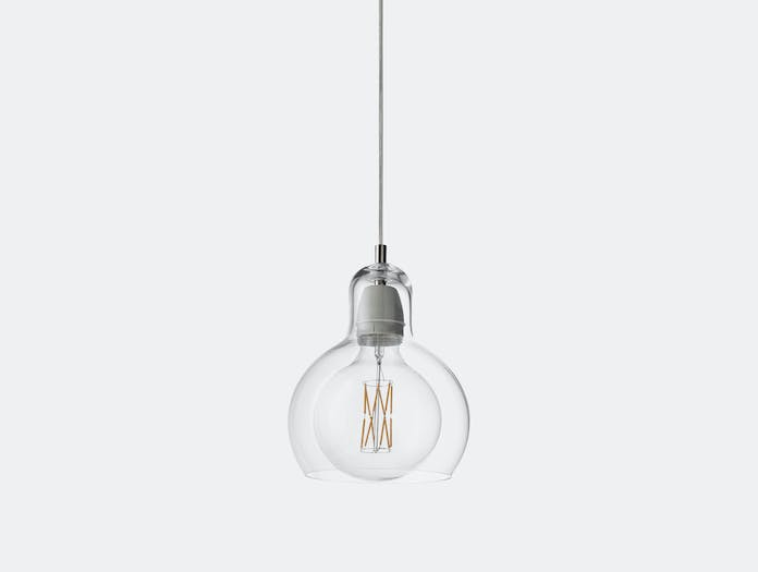 And Tradition Mega Bulb Pendant Light Clear Sofie Refer