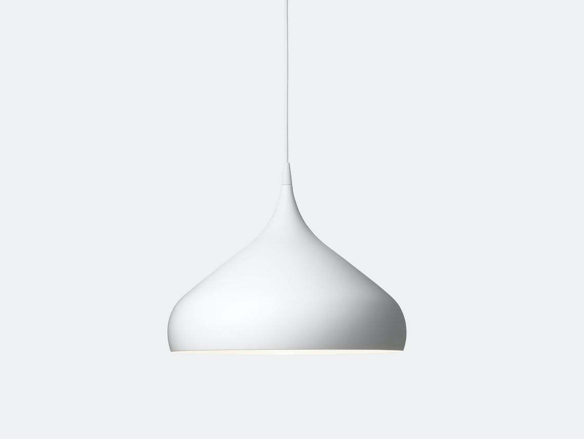 And Tradition Spinning Pendant Light Bh2 White Benjamin Hubert