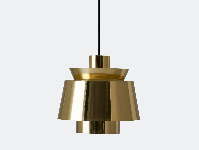 And Tradition Utzon Pendant Lamp Brass Jorn Utzon