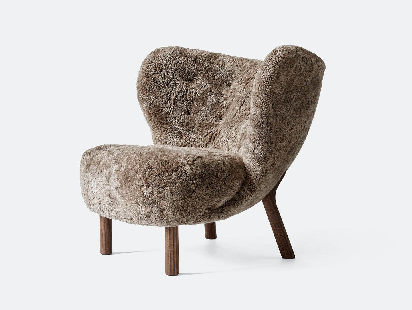 And tradition little petra lounge chair sheep wal