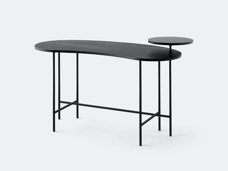 And Tradition Palette Desk Black Jaime Hayon