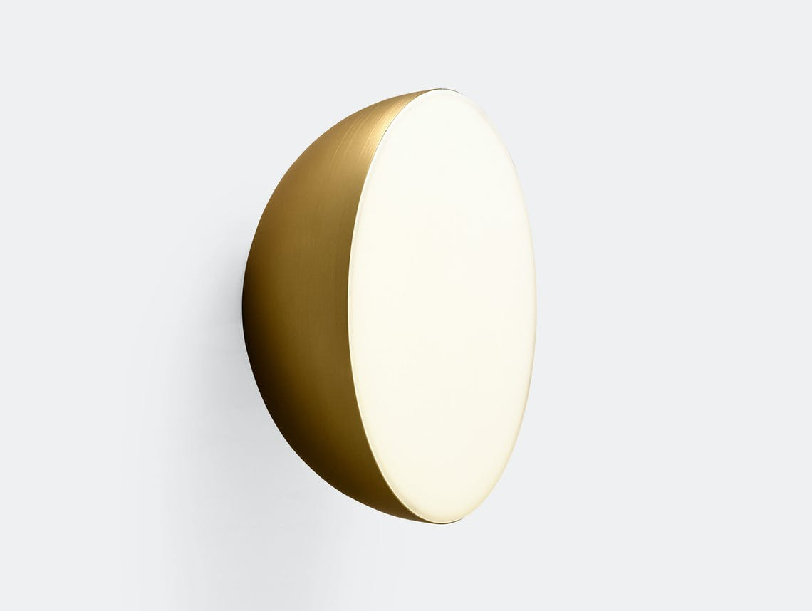 And Tradition Passepartout Wall Light Jh12 Gold Jaime Hayon