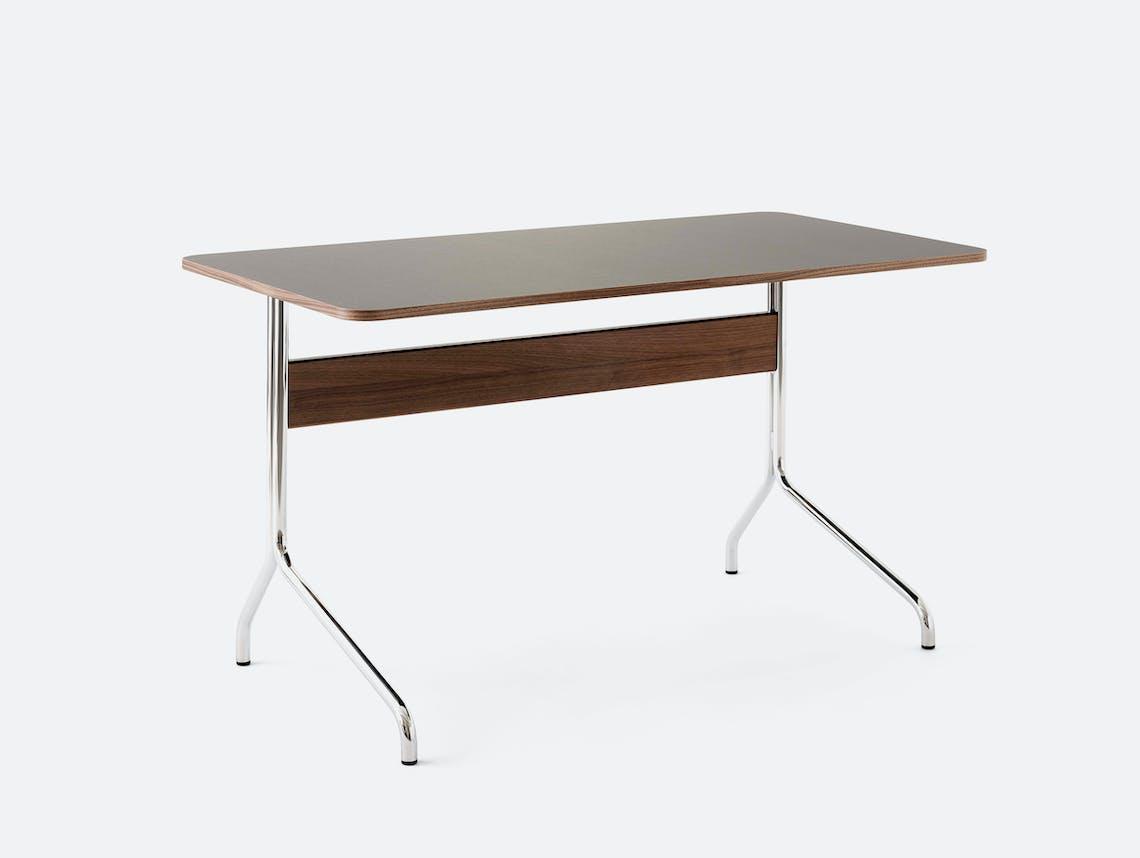 Andtradition pavilion av16 desk iron linoleum