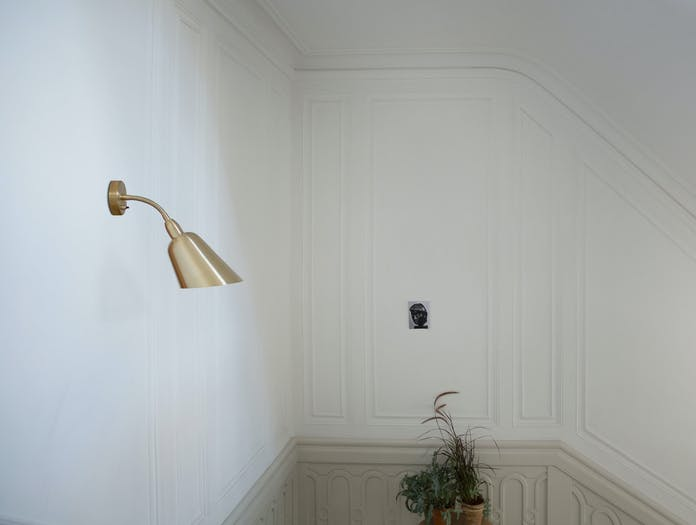 And Tradition Bellevue Wall Light Stairs Aj9 Arne Jacobsen
