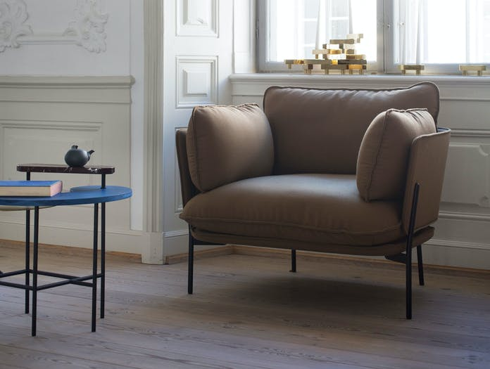 And Tradition Cloud Armchair Luca Nichetto