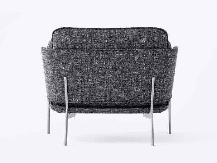 And Tradition Cloud Armchair Back Luca Nichetto