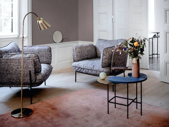And Tradition Cloud Armchairs Luca Nichetto