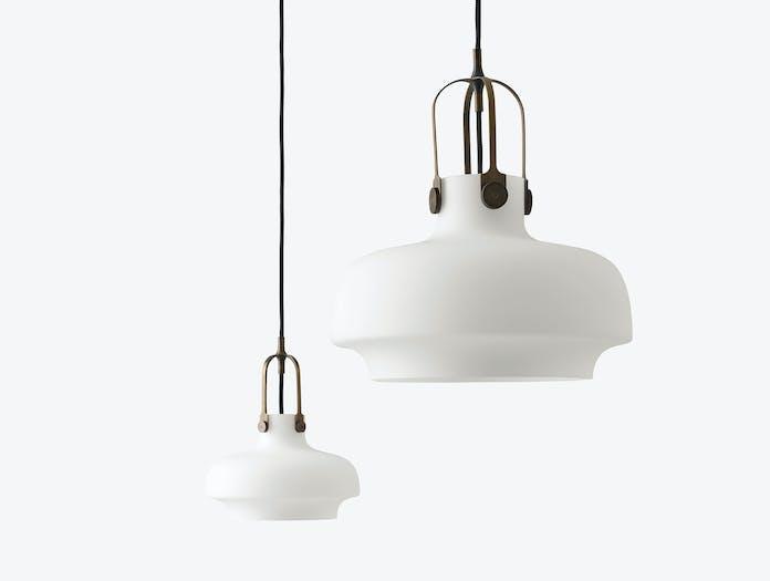 And Tradition Copenhagen Pendant Lamp Sc6 Sc7 Opal