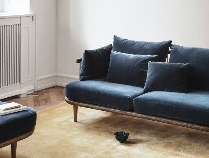 And Tradition Fly Sofa Detail Space Copenhagen