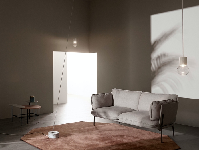 And Tradition Marble Light Sv7 Studio Vit