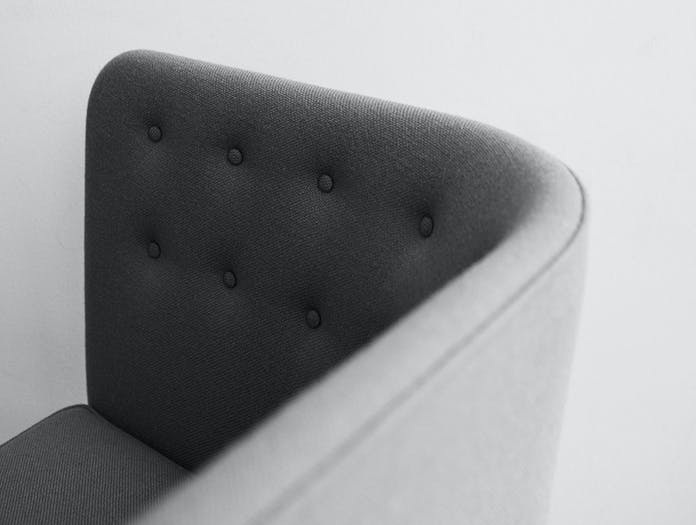 And Tradition Mayor Sofa Detail Arne Jacobsen