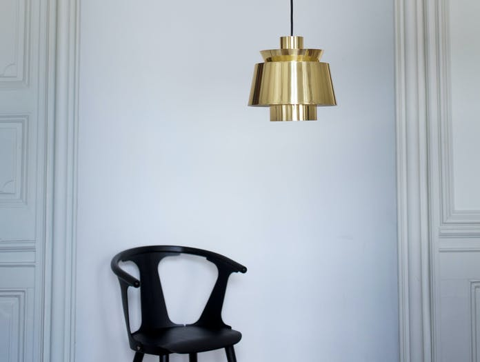 And Tradition Utzonpendant Lamp Brass Ju1 Jorn Utzon