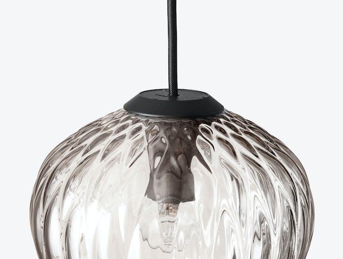 Blown Pendant Lamp Sw4 Detail Samuel Wilkinson