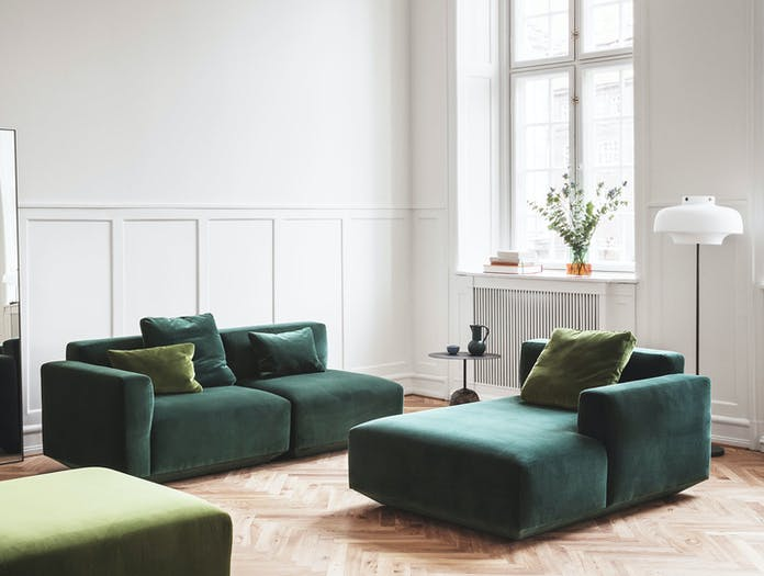 And Tradition Copenhagen Lato Tricolore Develius sofa