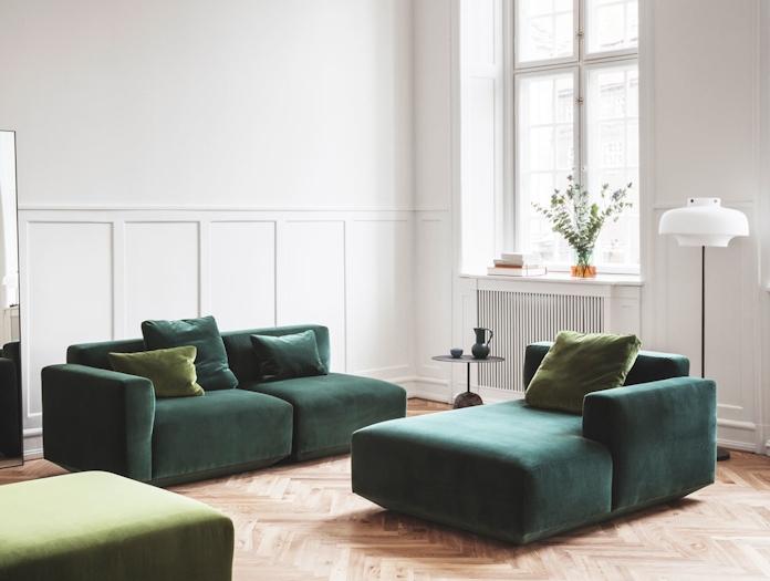 And Tradition Copenhagen Lato Tricolore Develius sofa