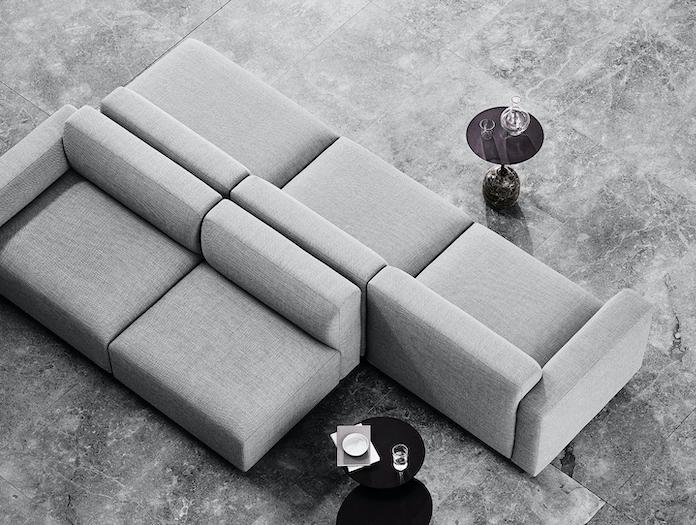And Tradition Develius modular sofa detail